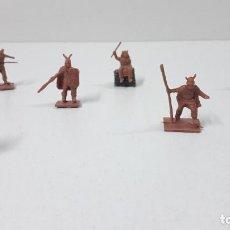 Figuras de Goma y PVC: LOTE DE SOLDADITOS MONTAPLEX - VIKINGOS . AÑOS 70 / 80. Lote 237900795