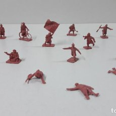 Figuras de Goma y PVC: LOTE DE SOLDADITOS MONTAPLEX . FRANCESES . AÑOS 70 / 80. Lote 237918885