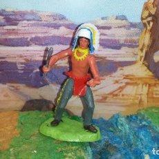 Figuras de Goma y PVC: INDIO DE ELASTOLIN. Lote 238042420