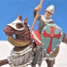 Figuras de Borracha e PVC: ANTIGUAS FIGURAS EN PLÁSTICO DE REAMSA. SERIE CRUZADOS.. Lote 238054530
