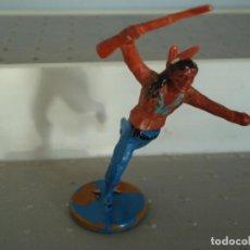 Figuras de Borracha e PVC: FIGURA DE UN INDIO DE GAMA. Lote 238076270