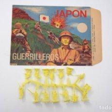 Figuras de Borracha e PVC: MONTAPLEX JAPÓN Nº 108 SOBRE EN ESTADO IMPECABLE + COLADA JAPONESES. Lote 238101350