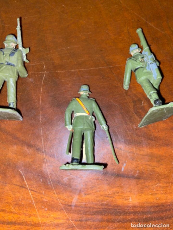 Figuras de Goma y PVC: REAMSA LOTE DE 3 UNIDADES DE ARTILLERIA ESTILO PECH JECSAN COMANSI - Foto 3 - 238214980