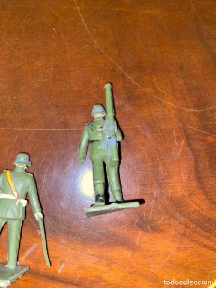 Figuras de Goma y PVC: REAMSA LOTE DE 3 UNIDADES DE ARTILLERIA ESTILO PECH JECSAN COMANSI - Foto 4 - 238214980