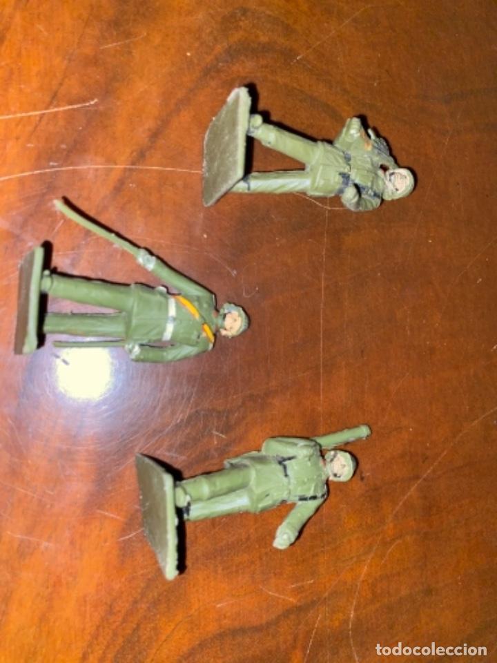 Figuras de Goma y PVC: REAMSA LOTE DE 3 UNIDADES DE ARTILLERIA ESTILO PECH JECSAN COMANSI - Foto 8 - 238214980