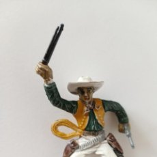 Figuras de Goma y PVC: FIGURA VAQUERO SOTORRES GOMA. Lote 238322555