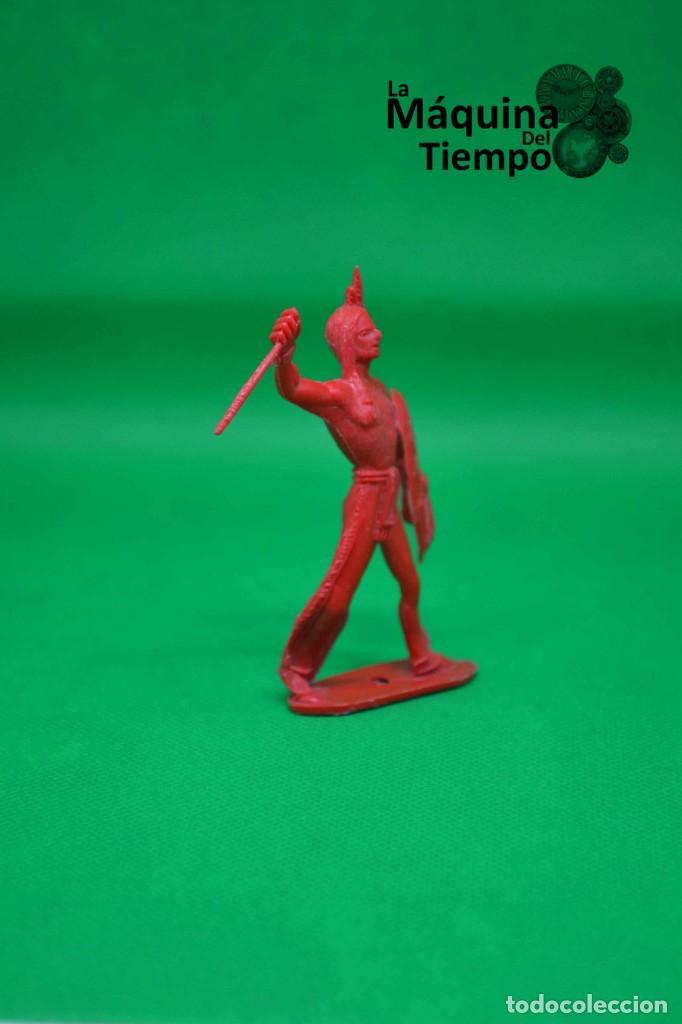 Figuras de Goma y PVC: Figura de indio de Comansi 2ª época. Años 70. Far West (Oeste). Indios y Cowboys (vaqueros) - Foto 2 - 238488460