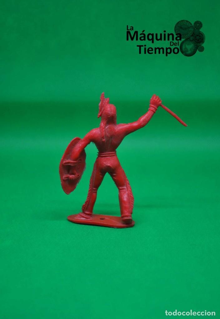 Figuras de Goma y PVC: Figura de indio de Comansi 2ª época. Años 70. Far West (Oeste). Indios y Cowboys (vaqueros) - Foto 3 - 238488460