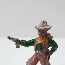 Figuras de Goma y PVC: VAQUERO - COWBOY . REALIZADO POR LAFREDO . SERIE PEQUEÑA ALTURA 4,1 CM . AÑOS 50 EN GOMA. Lote 238489000
