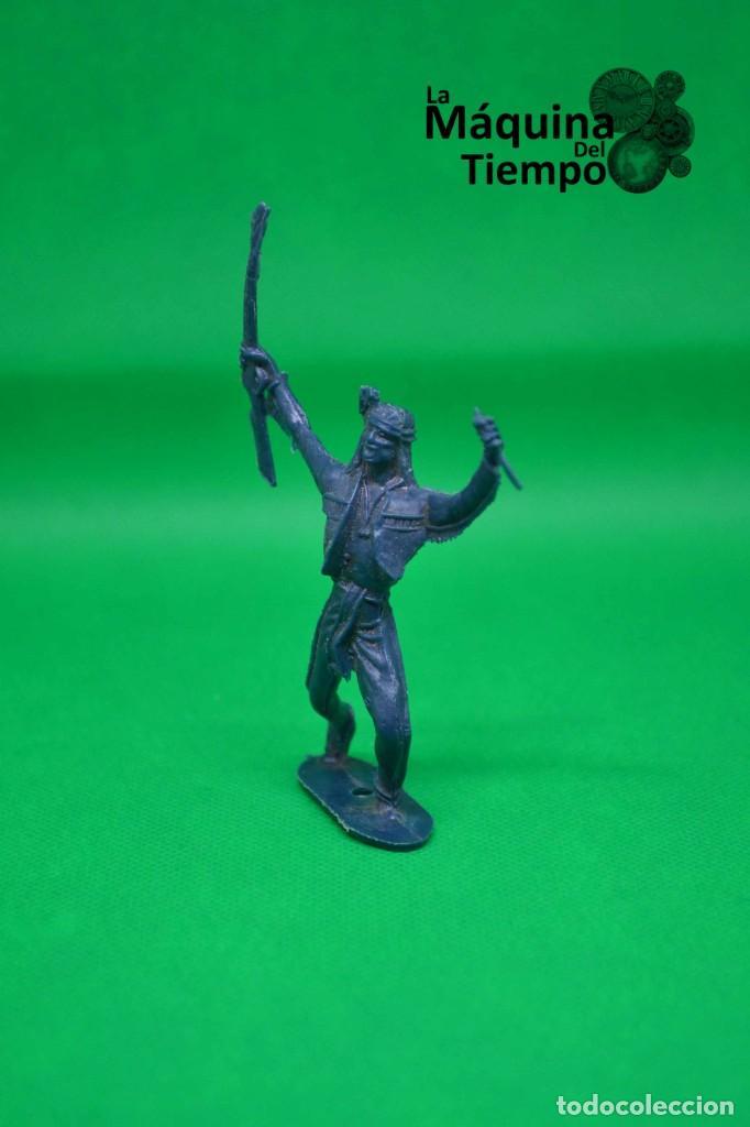 Figuras de Goma y PVC: Figura de indio de Comansi 2ª época. Años 70. Far West (Oeste). Indios y Cowboys (vaqueros) - Foto 2 - 238497485