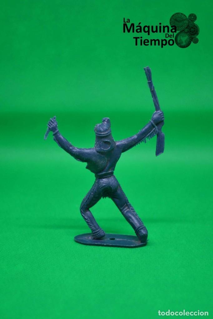 Figuras de Goma y PVC: Figura de indio de Comansi 2ª época. Años 70. Far West (Oeste). Indios y Cowboys (vaqueros) - Foto 3 - 238497485