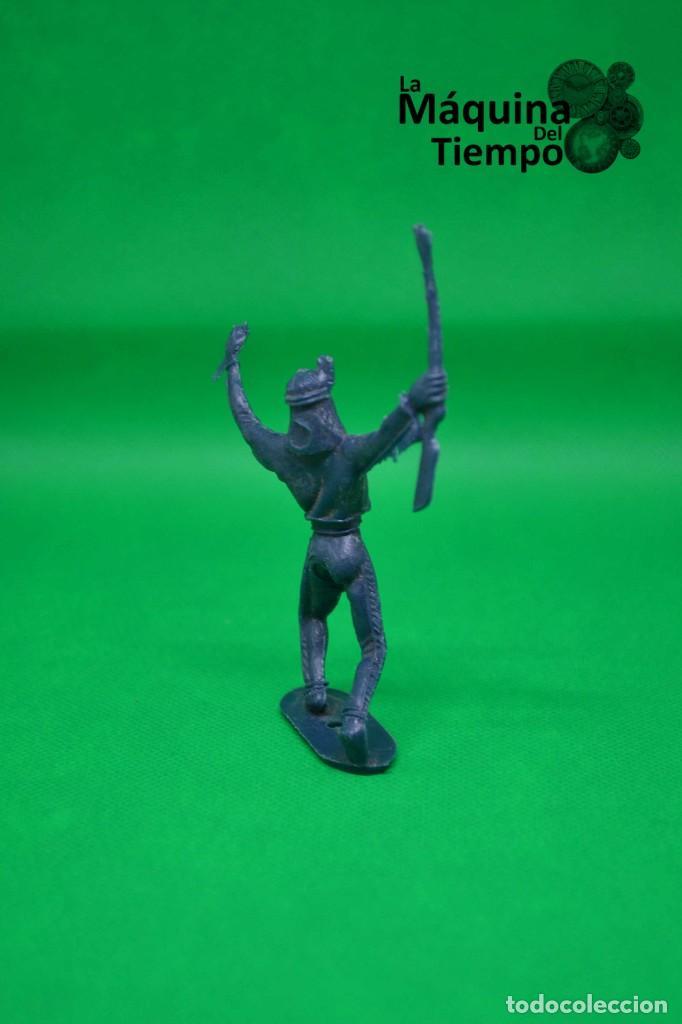 Figuras de Goma y PVC: Figura de indio de Comansi 2ª época. Años 70. Far West (Oeste). Indios y Cowboys (vaqueros) - Foto 4 - 238497485