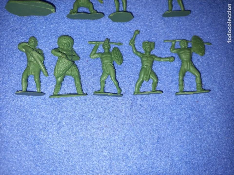 Figuras de Goma y PVC: CREACIONES REYMONT - LA ILUSION PIPERO : SERIE TARZAN - FIGURA GUERRERO ZULU TARZAN PLASTICO AÑOS 60 - Foto 6 - 238501055