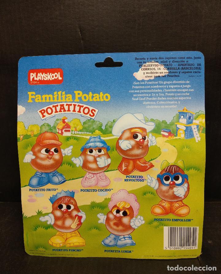 Figuras de Goma y PVC: Potatito revoltoso de la Familia Potato de playskool de Mb España 1987 - Foto 2 - 238509775
