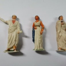 Figuras de Goma y PVC: LOTE DE 3 FIGURAS ROMANOS. AÑOS 50. 43.. Lote 238626135