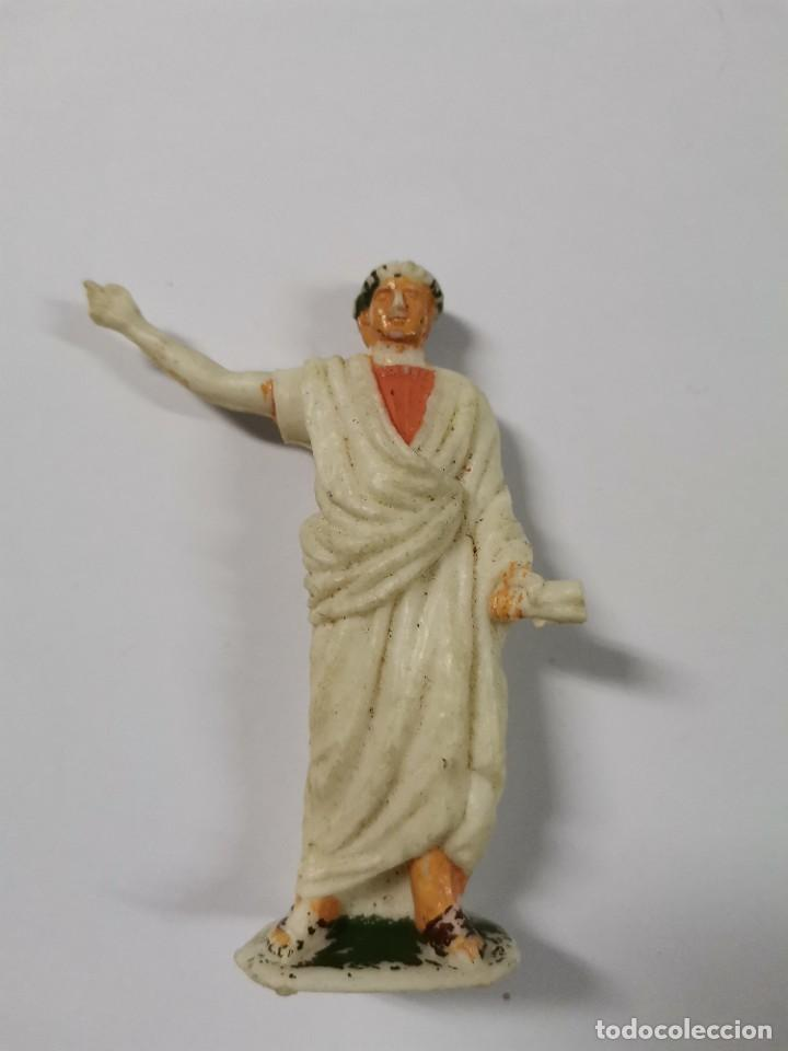 Figuras de Goma y PVC: LOTE DE 3 FIGURAS ROMANOS. AÑOS 50. 43. - Foto 3 - 238626135