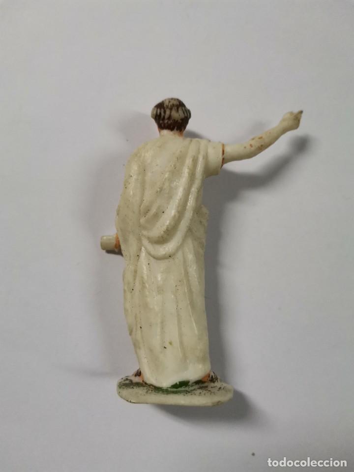 Figuras de Goma y PVC: LOTE DE 3 FIGURAS ROMANOS. AÑOS 50. 43. - Foto 4 - 238626135
