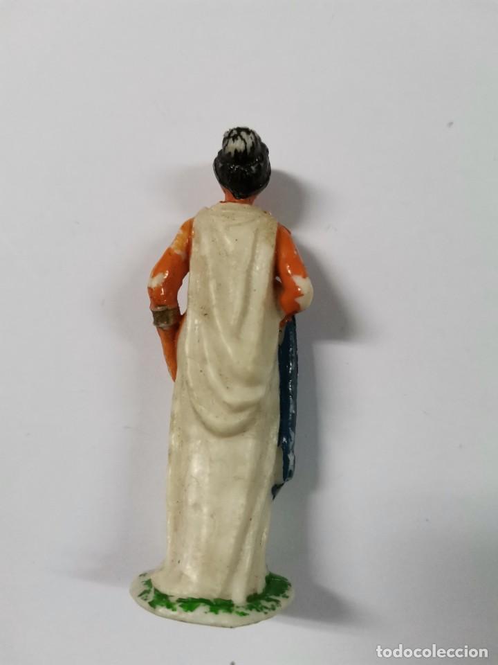 Figuras de Goma y PVC: LOTE DE 3 FIGURAS ROMANOS. AÑOS 50. 43. - Foto 6 - 238626135