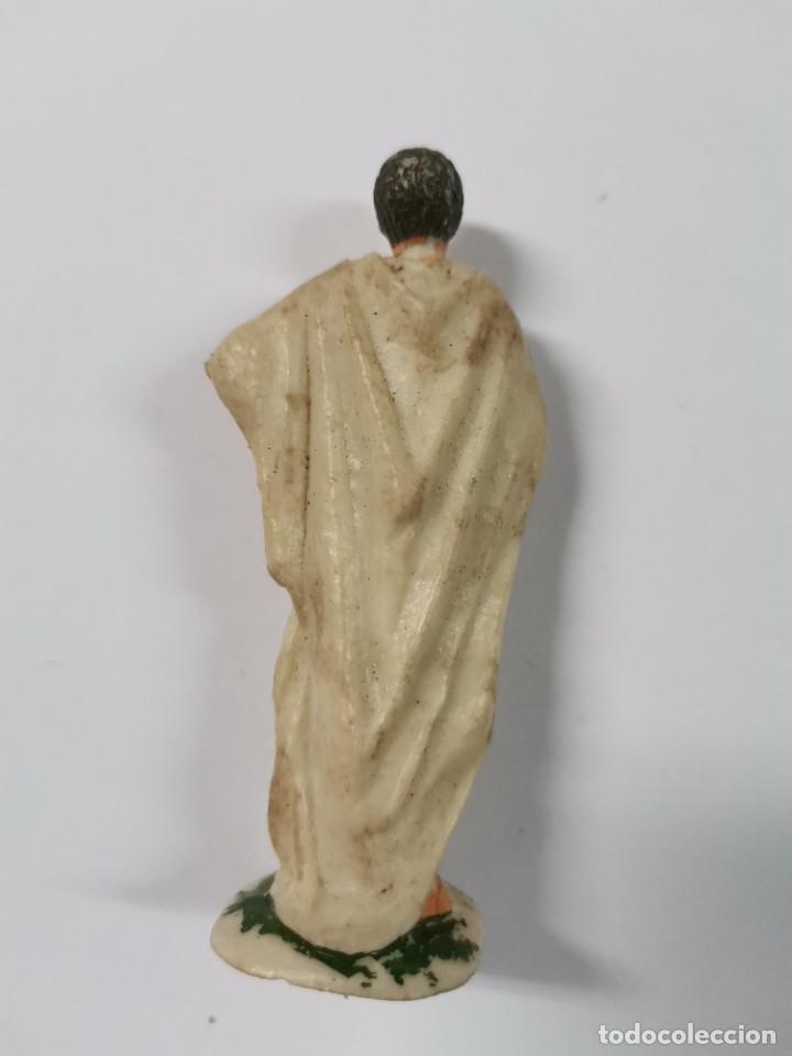 Figuras de Goma y PVC: LOTE DE 3 FIGURAS ROMANOS. AÑOS 50. 43. - Foto 8 - 238626135