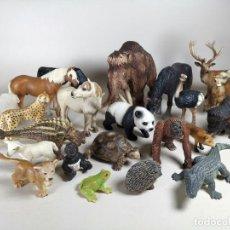 Figuras de Goma y PVC: LOTE 22 ANIMALES SCHLEICH ...PERFECTO ESTADO. Lote 238672615