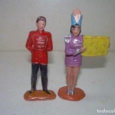 Figuras de Goma y PVC: ANTIGUAS FIGURAS CIRCO...JECSAN.. Lote 238741180