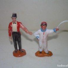 Figuras de Goma y PVC: ANTIGUAS FIGURAS CIRCO...JECSAN.. Lote 238741305