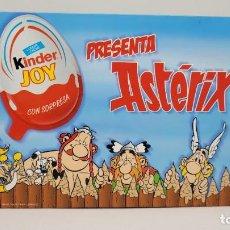 Figuras Kinder: KINDER SORPRESA JOY ASTERIX 2005. ESTUCHE. COMPLETO. MUY RARO. UNICO EN TODOCOLECCION.. Lote 238798985