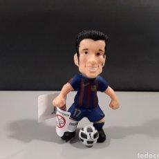 Figuras de Goma y PVC: FIGURA PVC FUTBOL BARCA JUGADOR PEDRO FC BARCELONA COMANSI. Lote 238868710