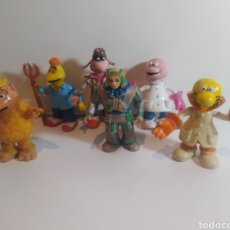 Figuras de Goma y PVC: LOTE MUÑECOS MUNDO DE YUPI COMIC SPAIN PVC. Lote 238880265