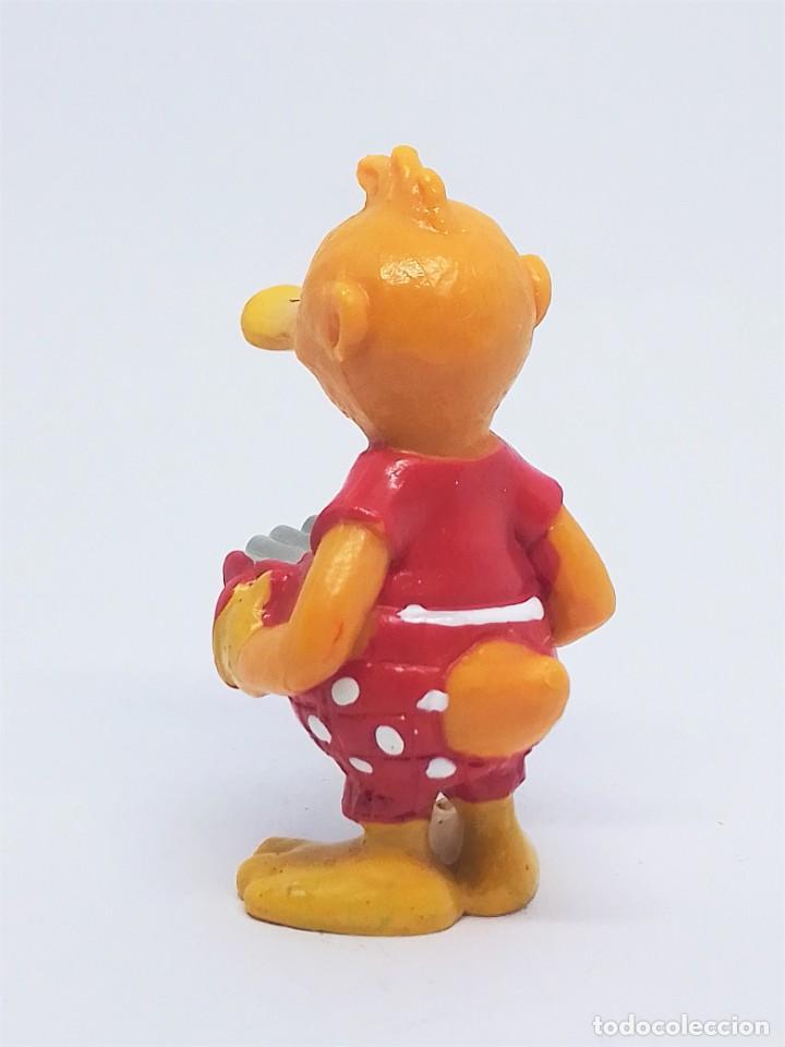 Figuras de Goma y PVC: Figuras de Knudell, Knax and Knibbel del programa de TV alemán Die Drollinge realizadas por Schleich - Foto 3 - 211652068