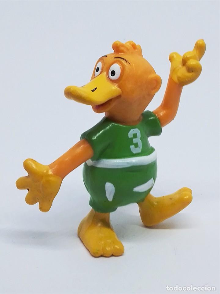 Figuras de Goma y PVC: Figuras de Knudell, Knax and Knibbel del programa de TV alemán Die Drollinge realizadas por Schleich - Foto 7 - 211652068