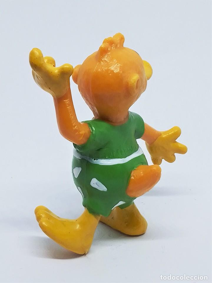 Figuras de Goma y PVC: Figuras de Knudell, Knax and Knibbel del programa de TV alemán Die Drollinge realizadas por Schleich - Foto 8 - 211652068