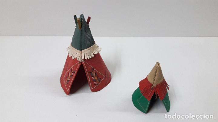 Figuras de Goma y PVC: TIPI INDIO PEQUEÑO . REALIZADO POR JECSAN . SERIE PEQUEÑA ALTURA 8,5 CM . ORIGINAL AÑOS 50 - Foto 2 - 239398210