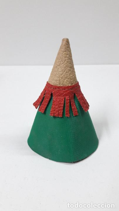 Figuras de Goma y PVC: TIPI INDIO PEQUEÑO . REALIZADO POR JECSAN . SERIE PEQUEÑA ALTURA 8,5 CM . ORIGINAL AÑOS 50 - Foto 5 - 239398210