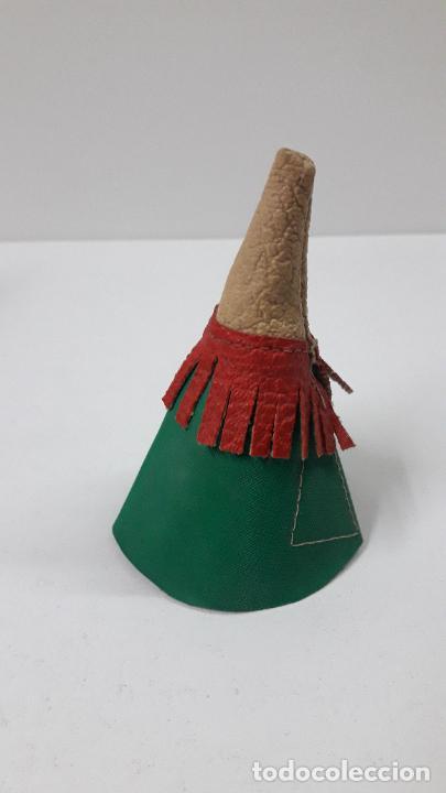 Figuras de Goma y PVC: TIPI INDIO PEQUEÑO . REALIZADO POR JECSAN . SERIE PEQUEÑA ALTURA 8,5 CM . ORIGINAL AÑOS 50 - Foto 6 - 239398210