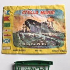 Figuras de Goma y PVC: SOBRE MONTAPLEX Nº 434 STELLA MARIS - VACÍO + COLADA DEL BARCO NIAGARA. Lote 294020583