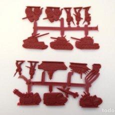 Figuras de Borracha e PVC: MONTAPLEX SERJAN COLADA SERIE MILITAR - AÑOS 70. Lote 239434690
