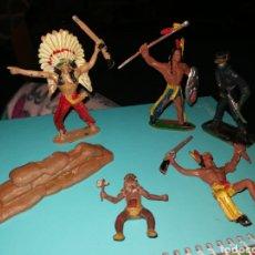 Figuras de Goma y PVC: FIGURAS OESTE COMANSI. Lote 239688515