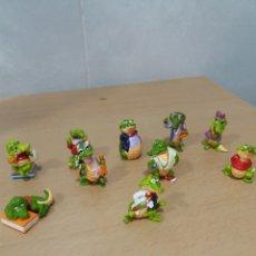 Figuras Kinder: KINDER COCODRILOS. Lote 239802145