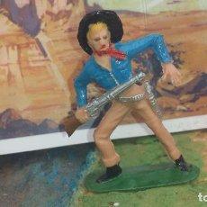 Figuras de Goma y PVC: VAQUERO DE JECSAN. Lote 239813545