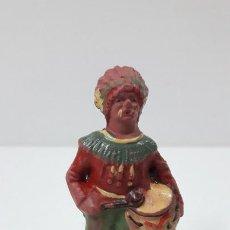 Figuras de Goma y PVC: GUERRERO INDIO . FIGURA REAMSA Nº 71 . ORIGINAL AÑOS 50 EN GOMA. Lote 239880960