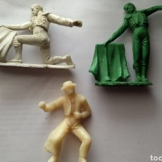 Figuras de Borracha e PVC: FIGURAS TOREROS AÑOS 70 JECSAN REAMSA COMANSI O SIMILAR. Lote 239904575