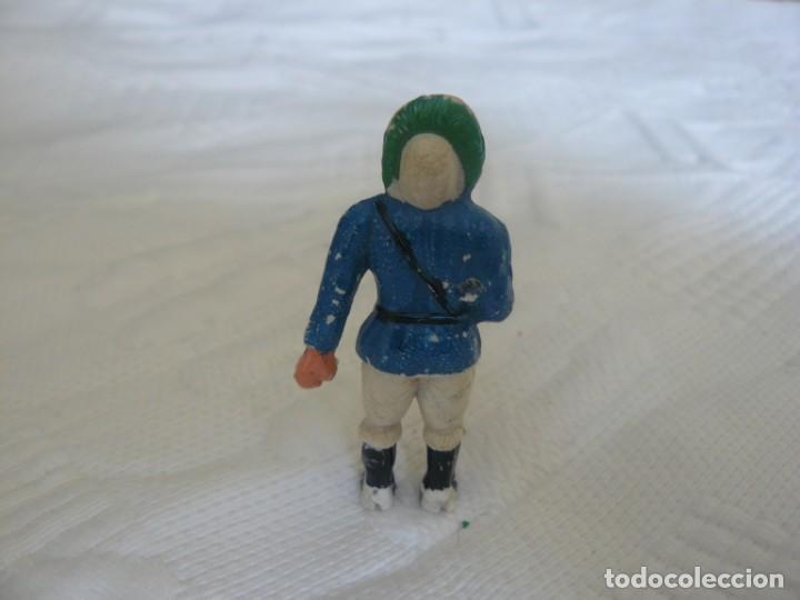Figuras de Goma y PVC: ESQUIMAL DE LA SERIE DE ESQUIMALES AÑOS 50 DE MANUEL SOTORRES - Foto 2 - 239999195