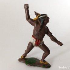 Figuras de Goma y PVC: INDIO TEIXIDO GOMA. Lote 240236125