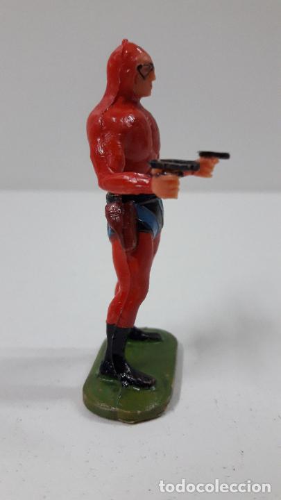 Figuras de Goma y PVC: EL HOMBRE ENMASCARADO . REALIZADO POR ESTEREOPLAST . ORIGINAL AÑOS 60 - Foto 5 - 240252025