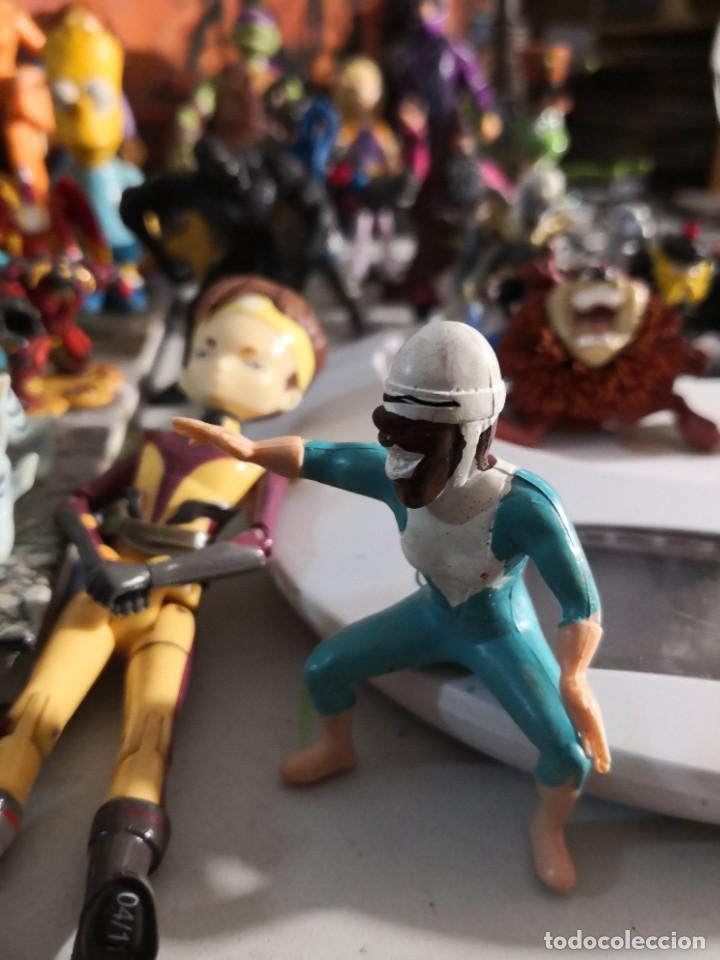 Figuras de Goma y PVC: Lote de 50 figuras de goma serie dibujos héroes, Disney y otras figuras de colección - Foto 6 - 240409320