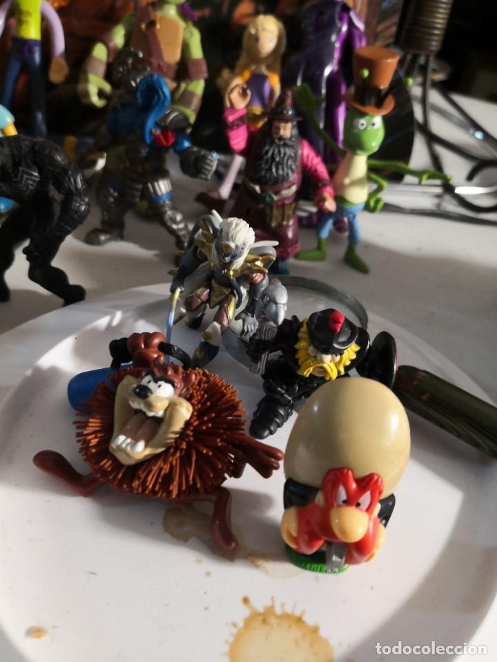 Figuras de Goma y PVC: Lote de 50 figuras de goma serie dibujos héroes, Disney y otras figuras de colección - Foto 7 - 240409320