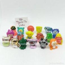 Figuras de Goma y PVC: LOTE DE 18 GOGOS CRAZY BONES MAGIC BOX. Lote 240453900