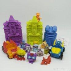 Figuras de Goma y PVC: LOTE DE MUÑECOS ZOOMLINGS CON COMPLEMENTOS. Lote 240454790