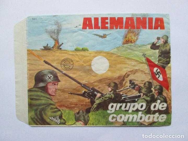 SOBRE VACIO MONTAPLEX - ALEMANIA - GRUPO DE COMBATE Nº 101 (Juguetes - Figuras de Goma y Pvc - Montaplex)